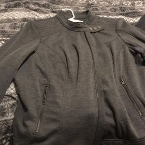 Grey cotton Moro jacket